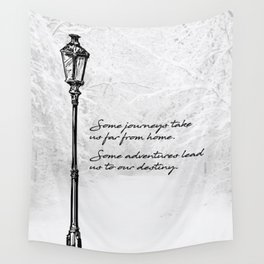 Chronicles of Narnia - Some adventures - CS Lewis Wall Tapestry