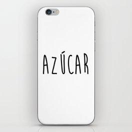 Azucar iPhone Skin