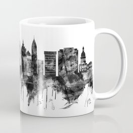 St. Louis Missouri Skyline BW Coffee Mug
