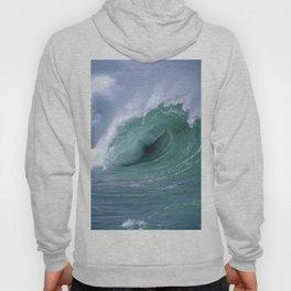 """Ocean Waves """"Stormproof Films"""" Cigna Logo Hoody"""