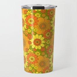 flower bunch with green base Travel Mug