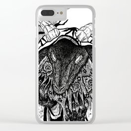 The Mourner Clear iPhone Case