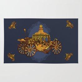 Cinderella carriage Rug