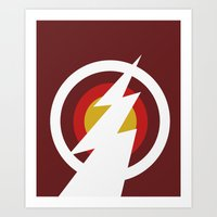 Speedster (Colored) Art Print