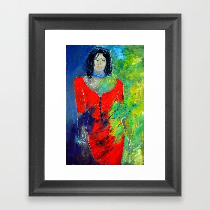 young girl 46311 Framed Art Print
