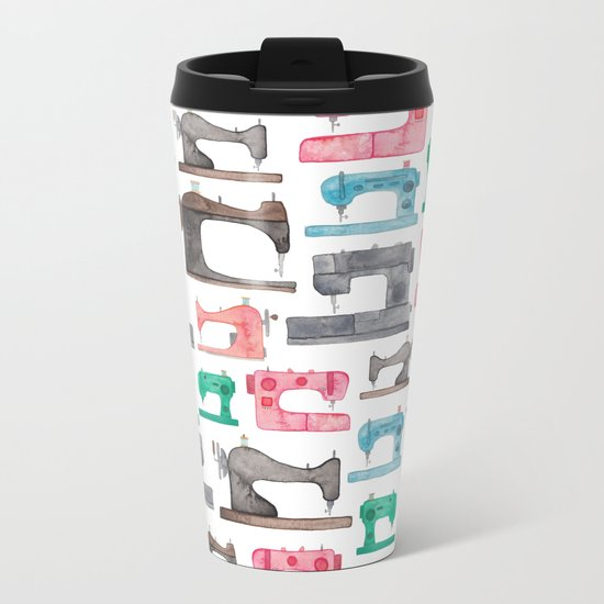 Sewing Machines Metal Travel Mug