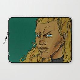 SIRI THE GOLDEN WARRIOR Laptop Sleeve