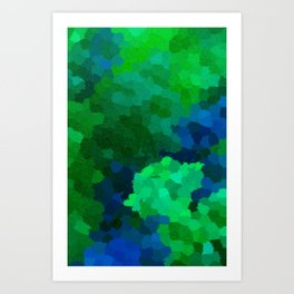 Life in the deep Art Print