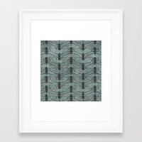 insects Framed Art Prints featuring Insects by LaMoret