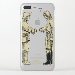 Pleased To Meet You Clear iPhone Case