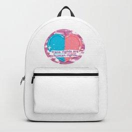#TransRightsAreHumanRights Backpack