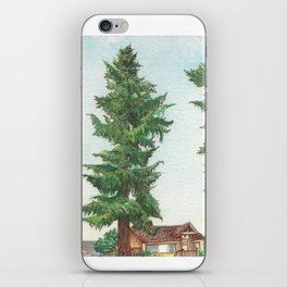 Neighbor's Tree iPhone Skin