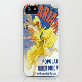 Vintage poster - French Wine iPhone Case