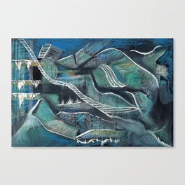 In the unknown Canvas Print