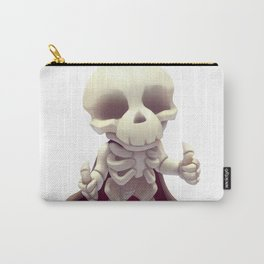 The happy skeleton Carry-All Pouch