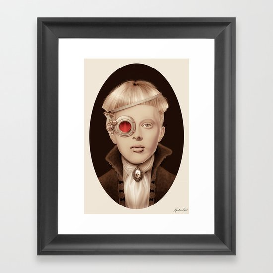 """Steampunk"" Framed Art Print"
