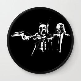 """Darth Vader - Say """"What"""" Again! Version 1 Wall Clock"""