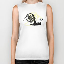 Just moved.  (French Horn) Biker Tank