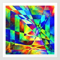 illusion Art Prints featuring Illusion. by Assiyam