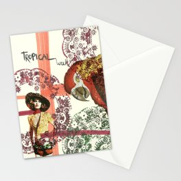 tropical week Stationery Cards