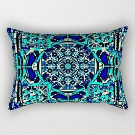 cherokee rose Maltese cross 2 Rectangular Pillow
