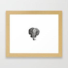Elephant, Elephant Art, Jungle Art Framed Art Print