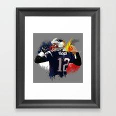 Tom Brady Framed Art Print