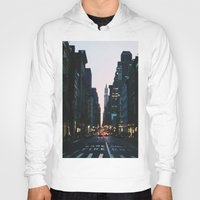 broadway Hoodies featuring Broadway by cascam