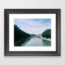 Tiber River Framed Art Print