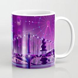 Synthwave Neon City #3 Coffee Mug