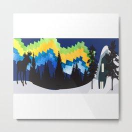 Moose Mountain Ridge Metal Print