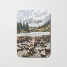 Maroon Bells - Colorado Bath Mat