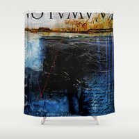 the 100 Shower Curtains featuring 100 by kalani
