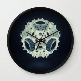 Icosahedron Bloom Wall Clock