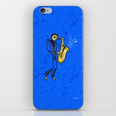 Saxman iPhone & iPod Skin