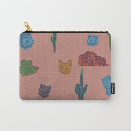 Cats and Cacti - Special Edition Carry-All Pouch