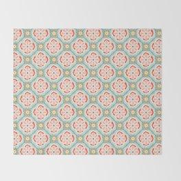 Alhambra Tile Throw Blanket