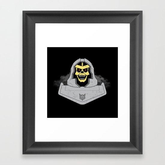 Skeletron Framed Art Print