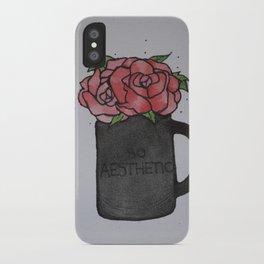 So Aesthetic Rose iPhone Case