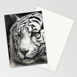 The Observant Tiger Stationery Cards