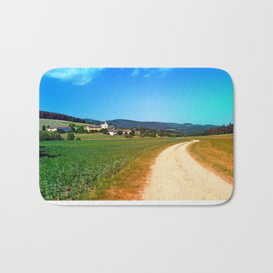 Another lonely hiking trail Bath Mat