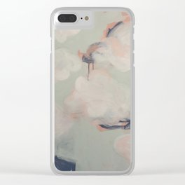 June evenings Clear iPhone Case