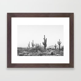 DESERT / Scottsdale, Arizona Framed Art Print