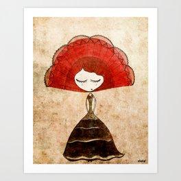 flamenca Art Print
