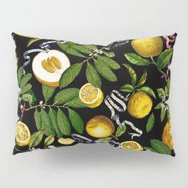 LEMON TREE Black Pillow Sham
