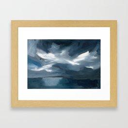Lake Taupo, New Zealand Framed Art Print