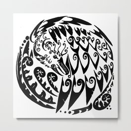 Circle of the Phoenix Metal Print
