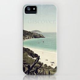 discover. {Arraial do Cabo iPhone Case