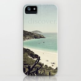 discover. {Arraial do Cabo iPhone Case
