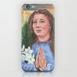 Saint Maria Goretti iPhone Case